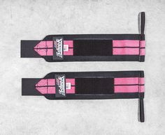 Schiek Wrist Wraps - Pink | Rogue Fitness