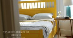 Hello Hue: I painted our IKEA bed frame and lived to blog about it.
