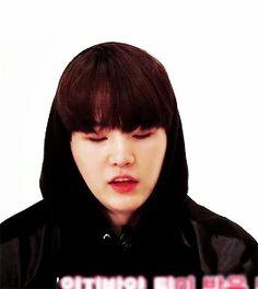 Yoongi in Bangtan Gayo is so underrated, look at that beautiful squishy boy