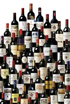 Bordeaux wines by © Class