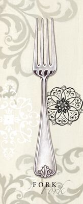 .Dinnerware printable - fork