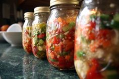 Giardiniera. Never had it, but I think I love it.    *Edit* Made it. Delicious.