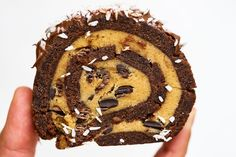 Kladdkaketårta med kakdeg