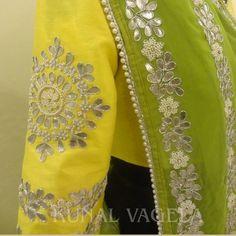 """Prem Ratan Dhan Payo Sonam Kapoor Lehenga For Sale…"" Embroidery Suits Punjabi, Hand Embroidery Dress, Embroidery Suits Design, Embroidery Saree, Embroidery Fashion, Hand Embroidery Designs, Couture Embroidery, Sari Blouse Designs, Bridal Blouse Designs"