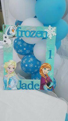 Actividad para celebración de cumpleaños Frozen. #juegos #Frozen