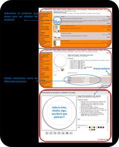 Elige y personaliza en 3 pasos! -Chapas, llaveros, tazas, camisetas, imanes.... Regalos Publicitarios Chapea.com