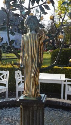 Tivoli May 2016 Tivoli Gardens, Copenhagen, Denmark, Buddha, Statue, Art, Art Background, Kunst, Performing Arts
