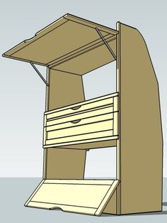 Step by step: removable storage cabinets