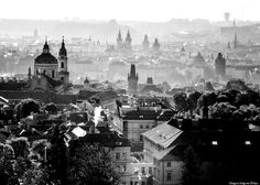 prague  - and it even look good in black and white !