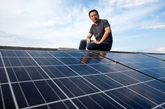"""Homeowners Take Shine to Solar Panel Installations Pick Up as Cost to Consumers Falls - """"Residential solar developers say they have been promoting power for between 10 cents and 20 cents a kilowatt-hour, depending on location and what state subsidies are available.  The EIA says traditional power companies charge between 11.4 cents and 33 cents a kilowatt-hour in California, New Jersey and New York, all of which have experienced big jumps in solar installations."""""""