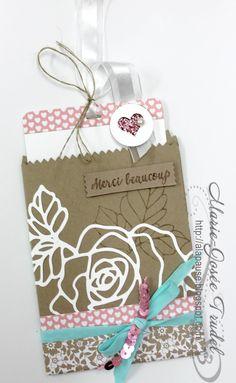 Marie-Josée Trudel Stampin Up SU A La Pause: Essence de Rose / Rose Garden