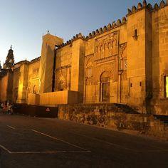 Entardecer em Córdoba na Espanha.Simplesmente lindo!