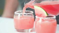 You won't find a prettier cocktail than thisoh-so-fresh Watermelon Margarita.
