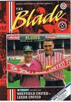 Sheffield United V Leeds United 23 09 90 Bramall Lane Football Programme | eBay