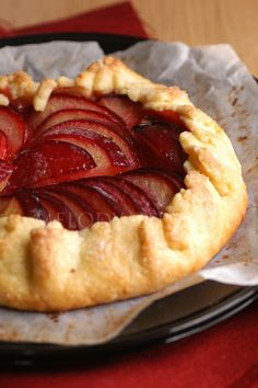 plum galette.. looks so amazing