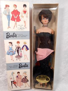 VHTF Vintage Barbie in Original DRESSED DOLL Box for #982 Solo in the Spotlight