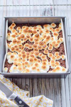Five Ingredient Gluten Free Brownies