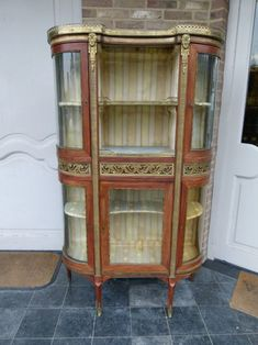 Elegant Napoleon III display cabinet from Discover more beautiful items from Johan Doomen's collection, a professional Belgian antique dealer, on Transferantique. China Cabinet, All In One, Display, Elegant, Antiques, Storage, Furniture, Beautiful