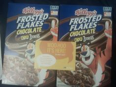 2 boxes of Kelloggs Choco Zucaritas from BzzAgent - I got my two boxes...now what else can I do with them besides bowls of cereal...hmmm
