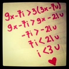 you know you're a math nerd when... you love this! haha