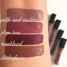L'Oréal infallible pro matte liquid lipstick #LipstickForFairSkin Lipstick For Fair Skin, Lipstick Art, Lipstick Swatches, Makeup Swatches, Makeup Dupes, Fall Lipstick Colors, Lip Colors, Drugstore Lipstick, Loreal Infallible Lipstick