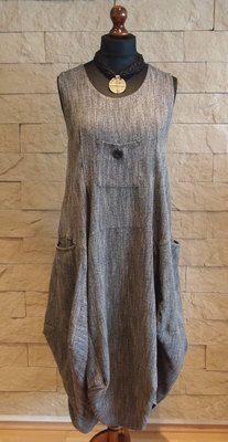 Sarah Santos Lagenlook Exclusive Collection Maxi Dress Grey Size L | eBay