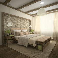 Details und weitere Optionen moderne Schlafzimmer Papierwand Nachahmung Ziegel Ideen #bedroomdesign