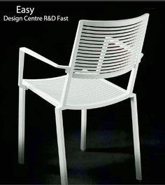 Fauteuil EASY en Aluminium, Design Centre R&D Fast