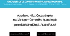 Fundamentos de Copywriting para Marketing Digital   http://copywriting.mariaspinola.com/