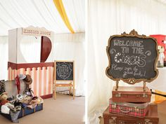 www.spotlight-affairs.com Wedding Magazine - An outdoor vintage circus-themed wedding