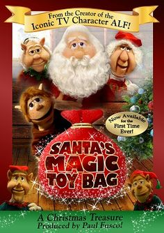 Santa's Magic Toy Bag DVD - Two Classy Chics