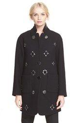 katespade new yorkembellished wool coat
