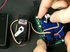 Arduino 101: Potentiometers andServos