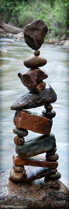 Very cool art project by a American artist Michael Grab. Very cool art project by a American artist Michael Grab. Land Art, Michael Grab, Image Zen, Stone Balancing, Rock Sculpture, Concrete Sculpture, Metal Sculptures, Balanced Rock, Theme Nature