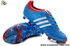 Wholesale Discount Adidas Adipure 11Pro TRX FG Bright Blue-Running White-Infrared Soccer Boots Store