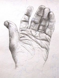 The hand of the artist - pencil