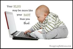 Why is blogging just like parenting? Let us count the ways. #humor