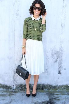 This Time Tomorrow: knit/pleats