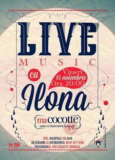 Live Music cu Ilona!