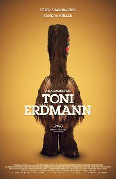 Alternative poster for TONI ERDMANN (Maren Ade, Germany, 2016) Designer: Michael Friebe aka RaborLatte Poster source: Poster Spy