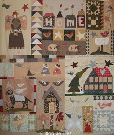 El Blog de Liles: abril 2012 Mi Mistery Quilt del libro Born to Quilt de Veronique Requena