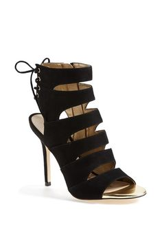 Sam Edelman 'Anastasia' Strappy Suede Sandal (Women) available at #Nordstrom