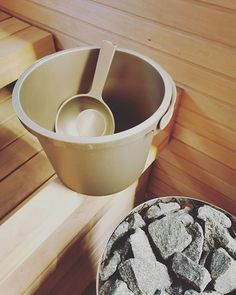 Enjoy the ancient Finnish tradition of a hot sauna! Calm and relaxing for both body and soul. #sauna #finland #selfcare