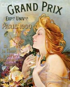 Vintage poster, Grand Prix Exposition Universelle, 1900,