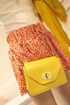 Small candy color chain bag - US$ 18.50