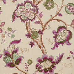 Sanderson - Traditional to contemporary, high quality designer fabrics and wallpapers   Products   British/UK Fabric and Wallpapers   Roslyn (DVIWRO106)   Vintage Wallpapers
