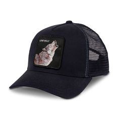 b658c466 Wolf Goorin Everyday Baseball ...Any one of the Goorin snap back trucker  caps