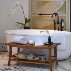 Discover the best teak shower benches for your home. We love teak benches in our shower for storage, decor, and usability. Find your shower bench today. Bathroom Spa, Wood Bathroom, Bathroom Furniture, Master Bathroom, Bathroom Ideas, Bathroom Bench Seat, Bathroom Trends, Bathroom Inspiration, Bathroom Stools