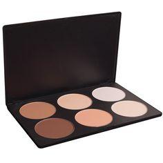 Bebeautiful Concealer 6 Shades Palette $12.00 #bestseller