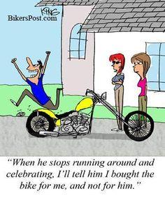 LOL!! Shoreline Harley-Davidson  www.shorelinehd.com
